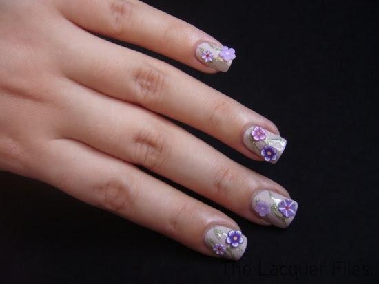 Fimo Flowers Nail Art Design Fimo Cane Slices