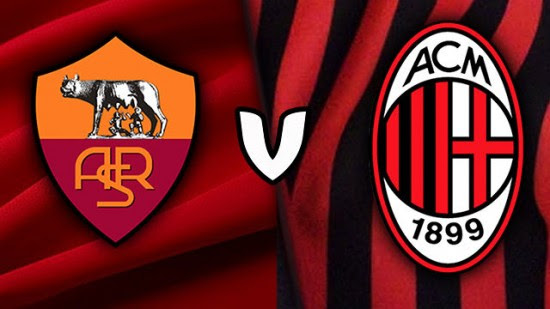 Image result for AS Roma vs AC Milan