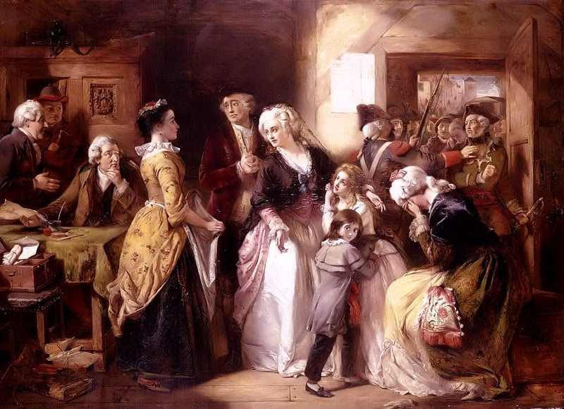 Ficheiro:Arrest of Louis XVI and his Family, Varennes, 1791.jpg