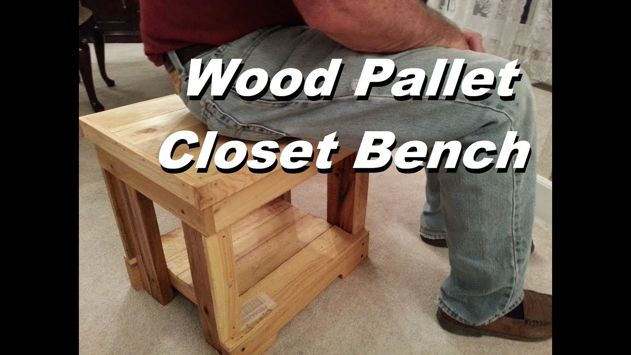 Pallet Wood Projects Youtube Wood Workbench Plans