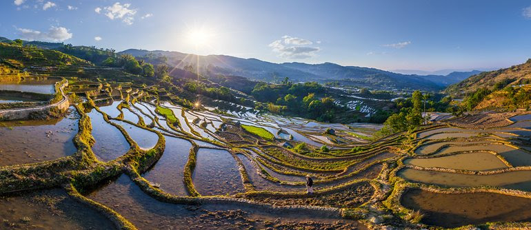 Yuanyang terrazas de arroz, China - AirPano.com • panorama de 360 ​​grados de la antena • 3D Virtual Tours Around the World