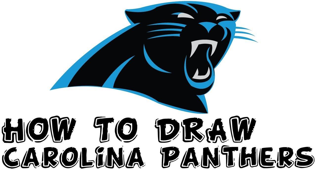 Carolina Panthers Logo Drawing At Getdrawingscom Free For