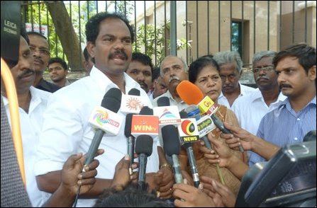 Protest in Chennai