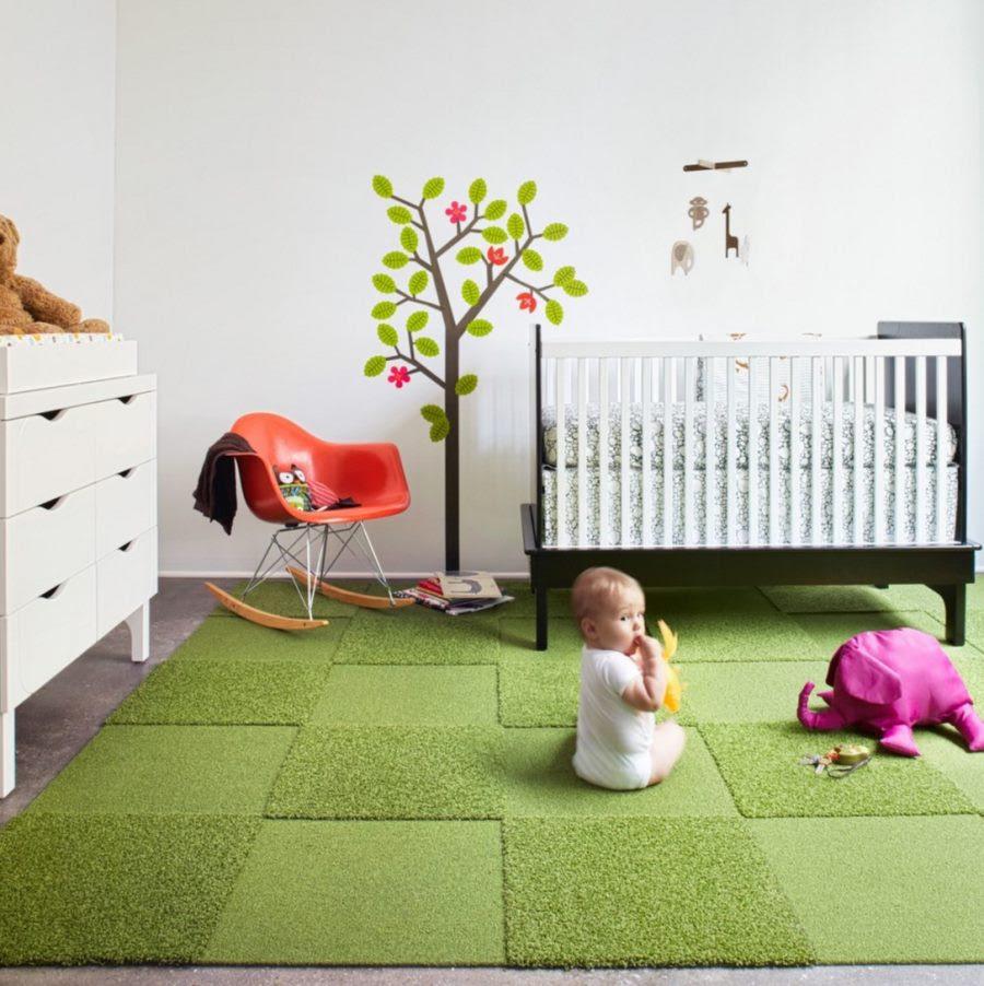Create Your Own Nursery Rug with FLOR