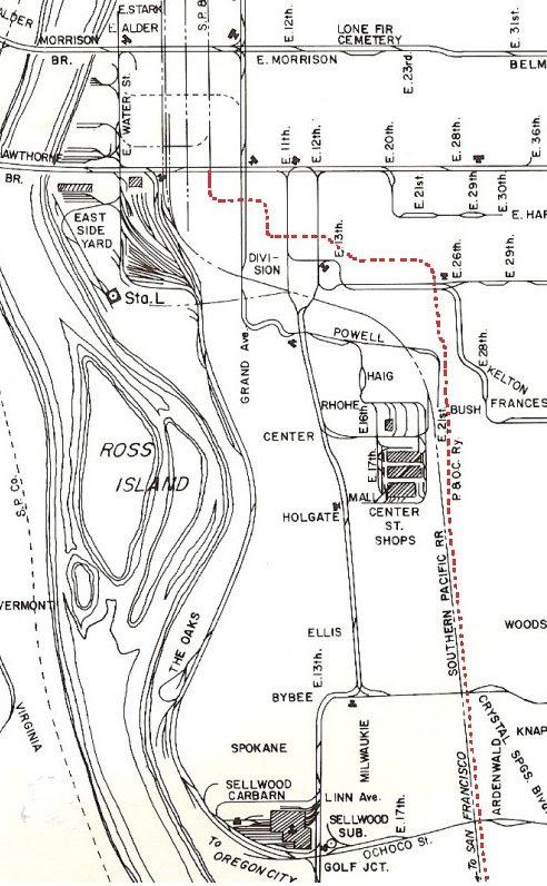 Carver Line Map