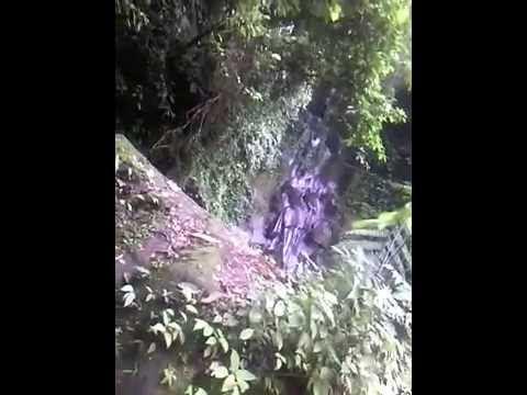 Jalur dan Denah letak Air Terjun Namu Belanga langkat