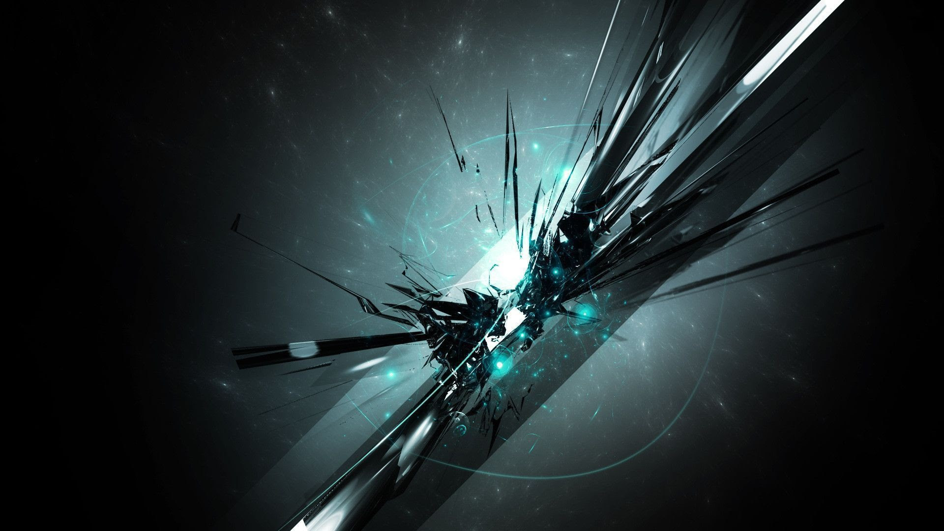 3D wallpapers HD metal shreds 1920×1080.