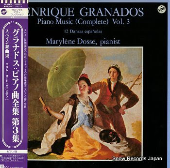DOSSE, MARYLENE granados; piano music vol.3