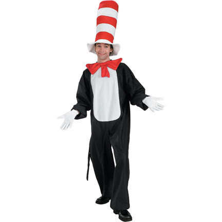 Cat in the Hat Costume - Cat In The Hat Standard Adult Costume.