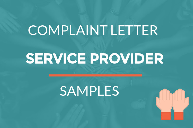 Complaint Letter To Service Provider For Poor Work Top Letter Templates