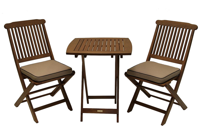 Amazon.com: Wood - Patio Furniture Sets / Patio Furniture ...