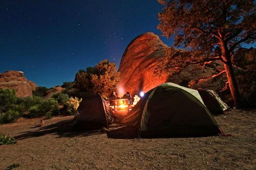 Camping Pranks at Night