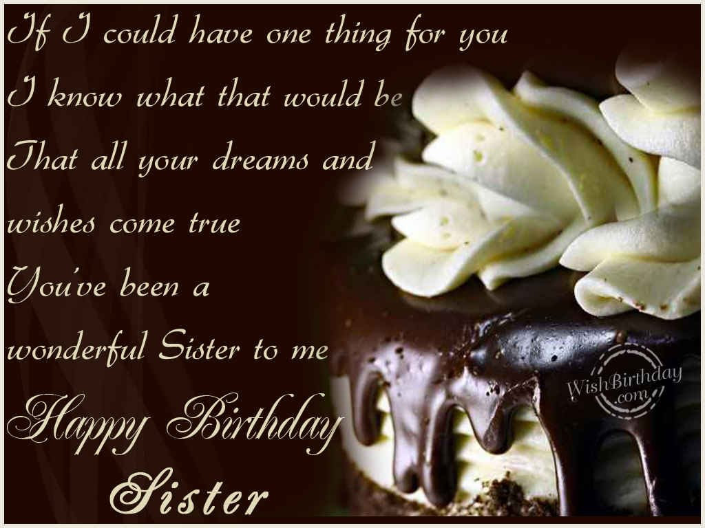 Wishing You A Very Happy Birthday Sister WishBirthday