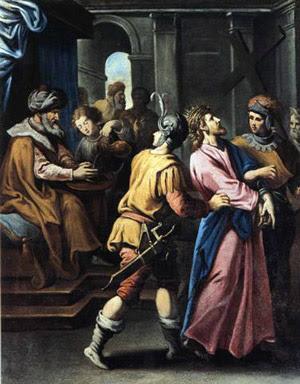 Terza Stazione Gesù è condannato dal sinedrio