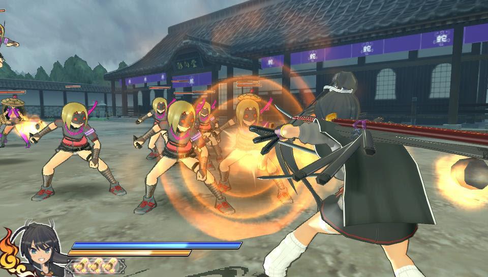 Resultado de imagem para senran kagura shinovi versus pc