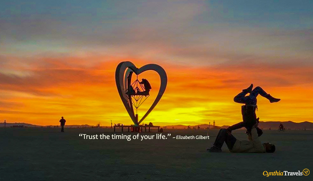 Title W Quote Trust The Timing Of Your Life Cynthia