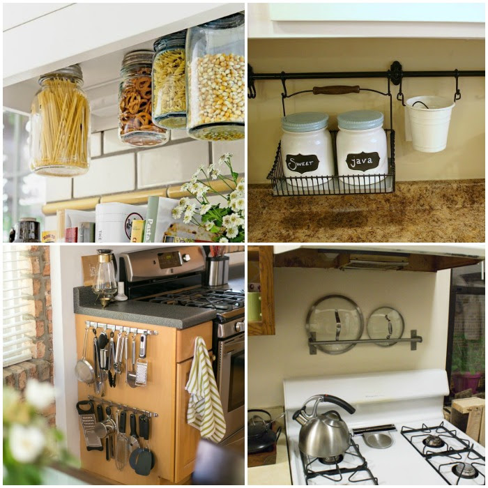 15 Clever Ways to Get Rid of Kitchen Counter Clutter ...