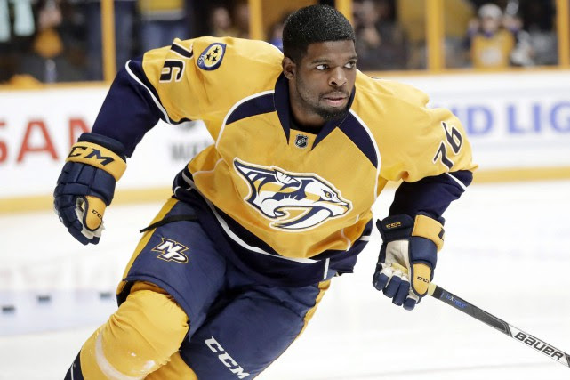 P.K. Subban... (PHOTO Mark Humphrey, AP)