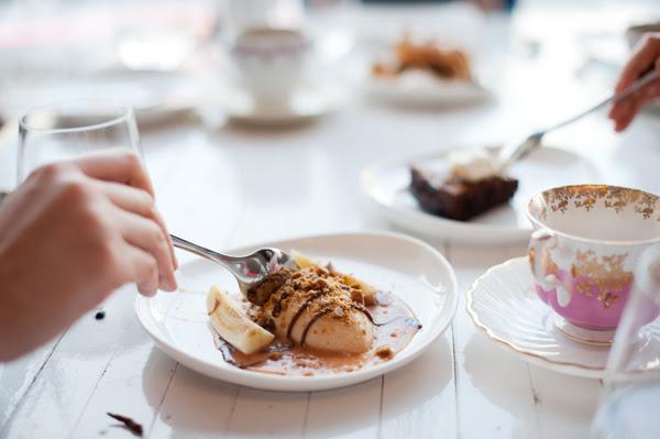 desserts at brunch