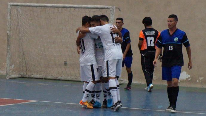 ABC x Alecrim futsal (Foto: Augusto Gomes/GloboEsporte.com)
