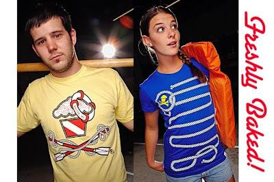 Johnny Cupcakes - Nautical Cross Oars Guys and Rope Bones Girls T-Shirts