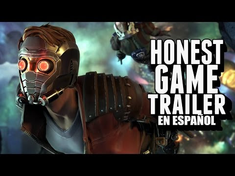 Guardianes De La Galaxia: The Telltale Series (Honest Game Trailers En Español)