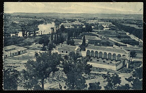 Cristo de la Vega (Antigua Basílica de Santa Leocadia) a principios de siglo. Foto Grafos hacia 1927