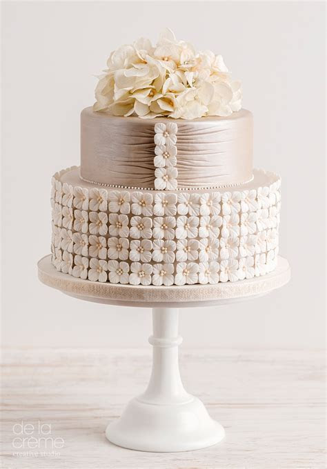 Amazing, Contemporary Wedding Cakes by De La Créme