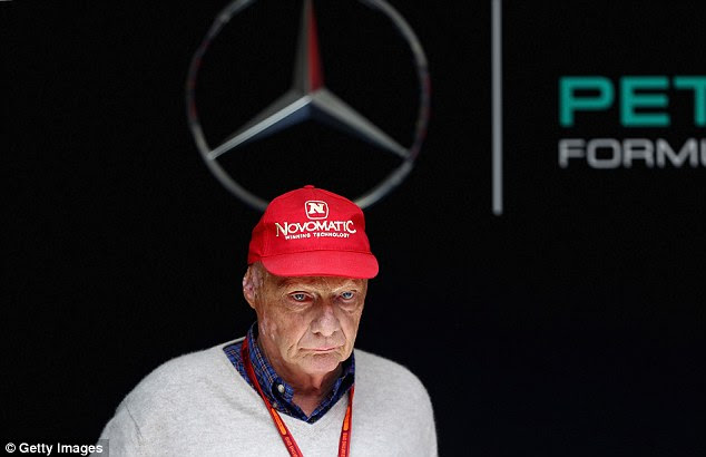 Lauda branded the incident as 'stupid', while Hamilton and Rosberg were summoned by stewards