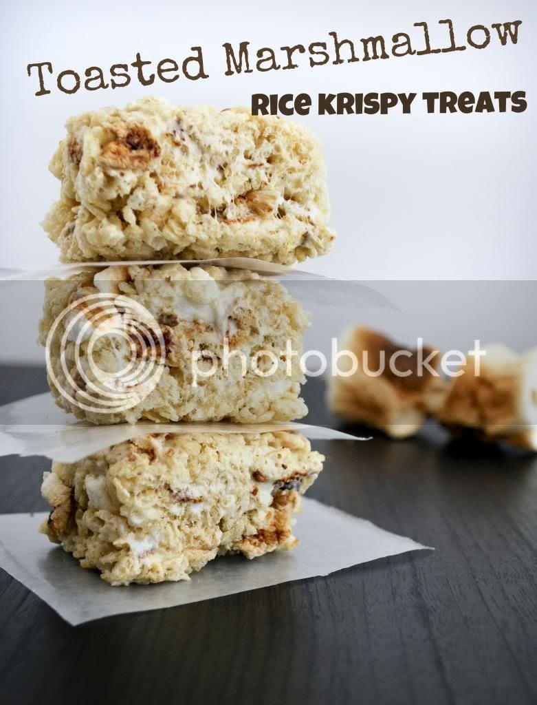 Mallow and Co: Toasted Marshmallow Rice Krispy Treats