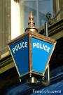 a police sign
