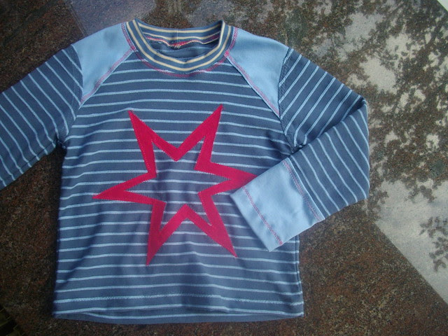 T-shirt with stars