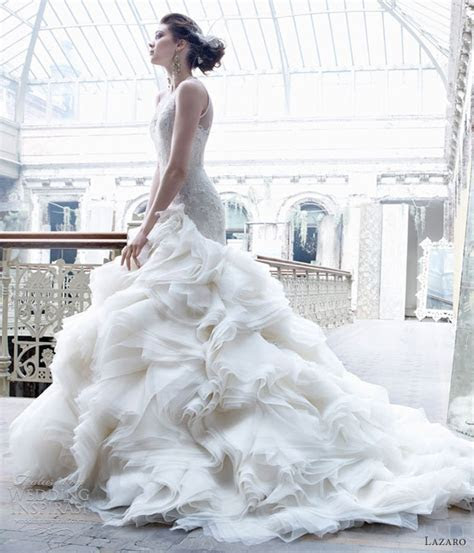 Lazaro Fall 2012 Wedding Dresses   Wedding Inspirasi