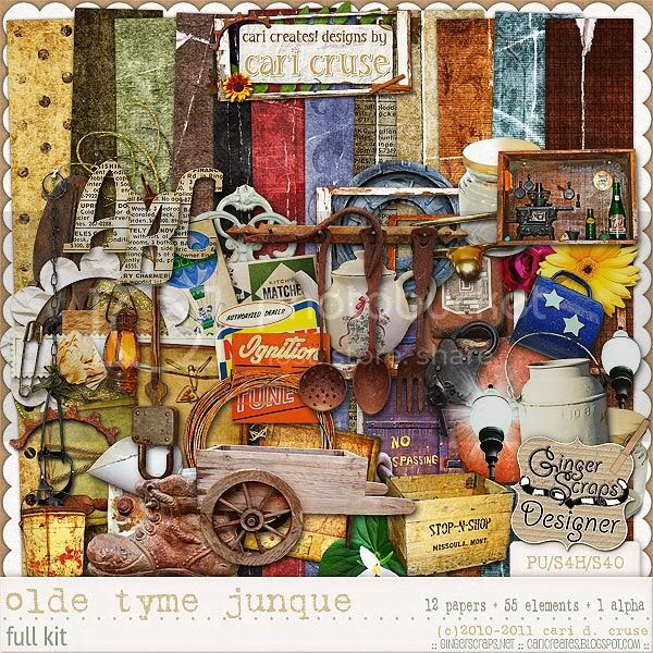 Olde Tyme Junque {the kit}