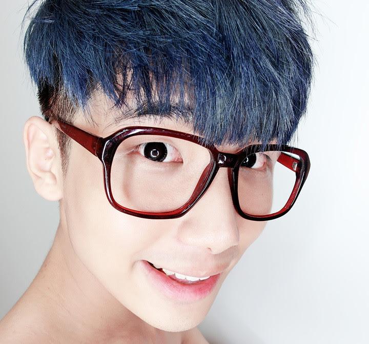 typicalben blue hair colour