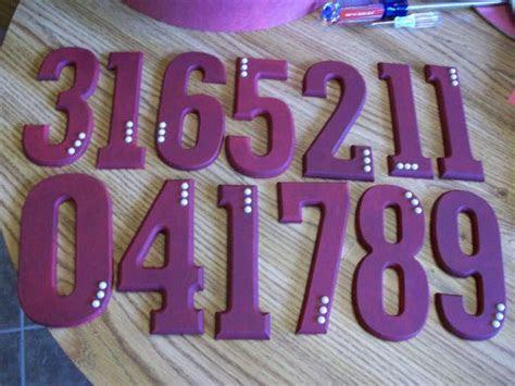 Wooden Table Numbers   Weddingbee Photo Gallery