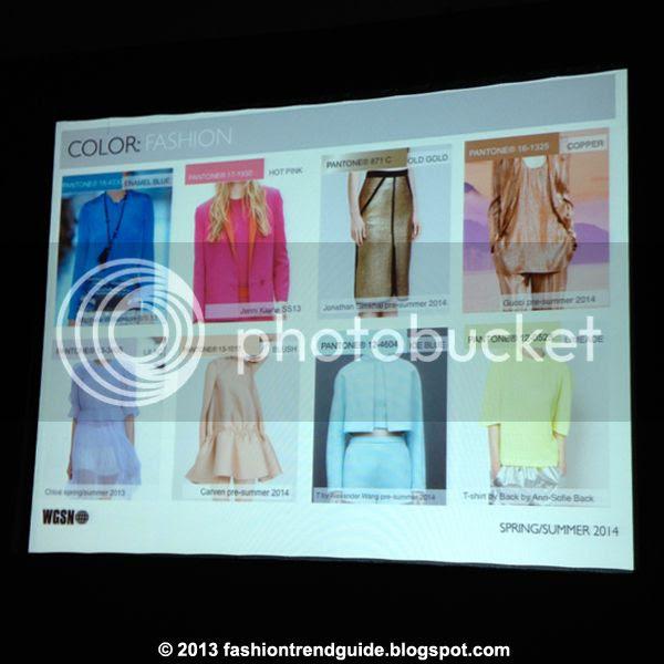 fashion trend forecast spring summer 2014