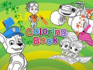 640+ Princess Coloring Book Juegos HD