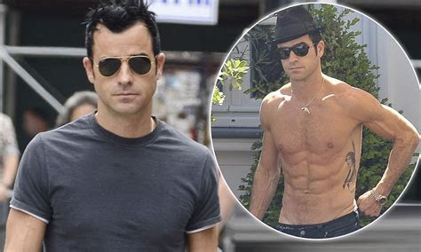 Justin Theroux's torso: Secrets of an A list body   Daily