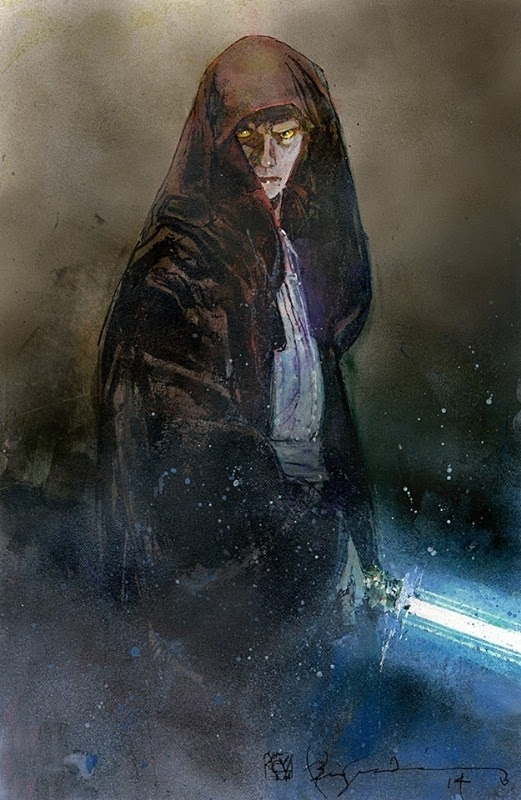 Anakin Skywalker by Bill Sienkiewicz