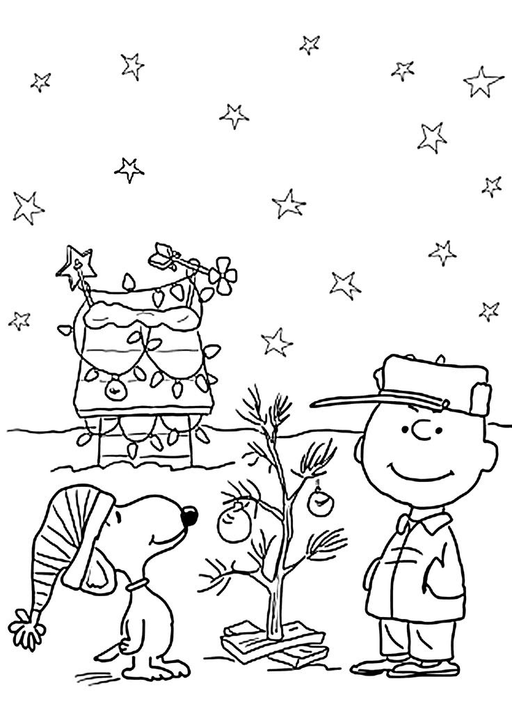 Full Page Christmas Coloring Pages at GetColorings.com ...