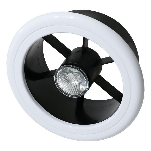 Ceiling Extractor System With Low Voltage Halogen Light Fv160 Weiss
