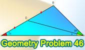 Problema 46: Triangulo, Angulo, Punto medio.