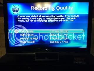 TiVo upgrade