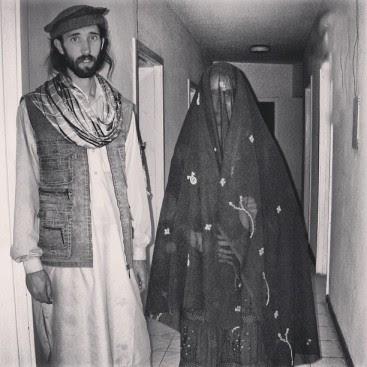 Siblings in Kabul, Afghanistan