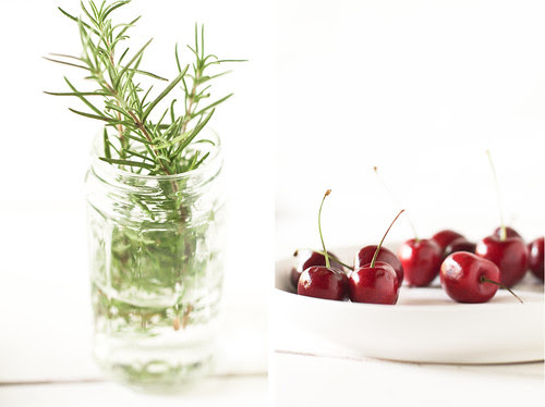 rosemary + cherries