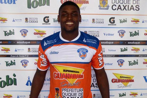 O zagueiro Paulão atuou pelo Duque de Caxias do Rio