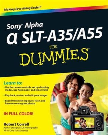 Sony Alpha SLT-A35/A55 For Dummies (For Dummies (Sports & Hobbies)