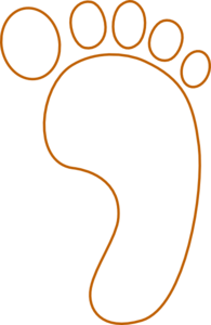 Footprint Clip Art at Clker.com - vector clip art online, royalty ...