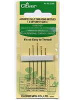 Clover Assorted Self Threading Needles